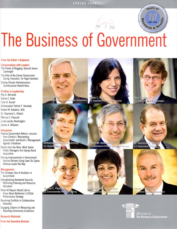 The Washington Consulting Team - Linda Washington - The Business of Government